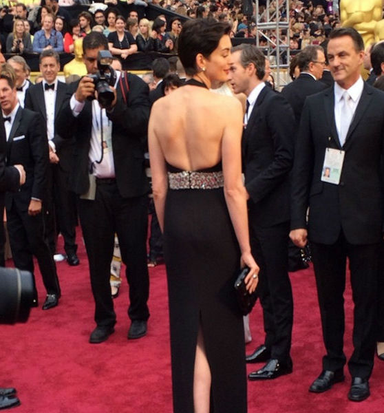 Here's Anne from the back