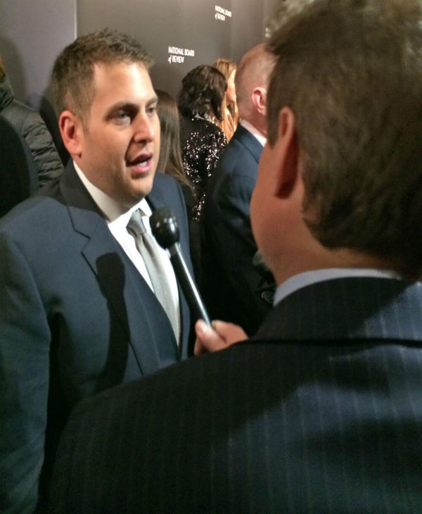 Here is Oscar nominee, Jonah Hill.
