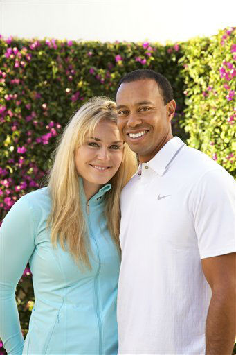 "<div class=""meta image-caption""><div class=""origin-logo origin-image ""><span></span></div><span class=""caption-text"">In this 2013 photo provided by Tiger Woods and Lindsey Vonn, golfer Tiger Woods and skier Lindsey Vonn pose for a portrait. Two months after rumors began circulating in Europe, Woods and Vonn posted separate items on their Facebook pages Monday, March 18, 2013, to announce their relationship. (AP Photo/Courtesy Tiger Woods/Lindsey Vonn) MANDATORY CREDIT TO COURTESY TIGER WOODS/LINDSEY VONN (AP Photo/ Uncredited)</span></div>"