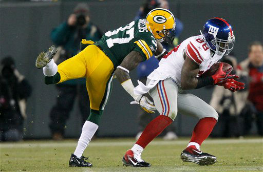 Sunday?s Giants-Packers N.F.C. divisional playoff game.  <span class=meta>(AP Photo)</span>