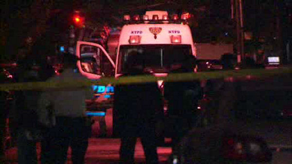 "<div class=""meta image-caption""><div class=""origin-logo origin-image ""><span></span></div><span class=""caption-text"">A woman and her four children were stabbed to death Saturday night in their Sunset Park, Brooklyn apartment.</span></div>"