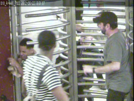 "<div class=""meta ""><span class=""caption-text "">Police released surveillance photos of a suspect wanted for robbing a man of his iPhone on the R train at the Canal Street Subway Station. (WABC Photo)</span></div>"