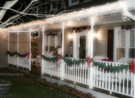 The Begley house in Chester, NY decked out for the holidays. <span class=meta>(WABC Photo)</span>