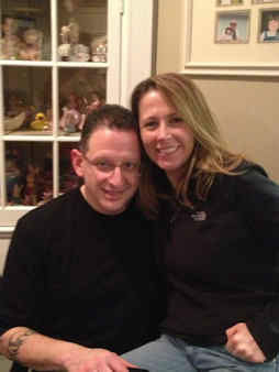This is my fiance, Anthony & I at a friends house. We just got engaged right before Christmas. Love all of you at WABC! Sharon Richinelli