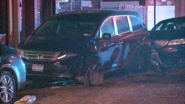 Three people were killed and three others injured when their cars collided early Saturday morning in the Gravesend section of Brooklyn.