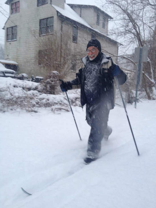One way to get around in the snow. <span class=meta>(Marcus Solis)</span>