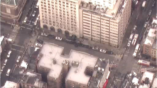 "<div class=""meta ""><span class=""caption-text "">NewsCopter 7 over the scene of an evacuation following the report of an explosion at 88 Lexington Avenue.   The explosion turned out to be a blown tire.</span></div>"