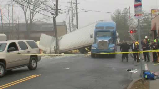 "<div class=""meta ""><span class=""caption-text "">A NJTransit train and a truck carrying paint collided in Little Falls, New Jersey.</span></div>"