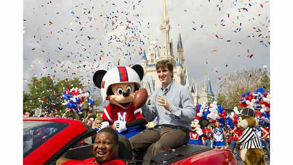 "<div class=""meta ""><span class=""caption-text "">Super Bowl MVP didn't join his teammates on the ride home today because as Super Bowl MVP he was invited to take part in the afternoon parade in Orlando, Florida.</span></div>"