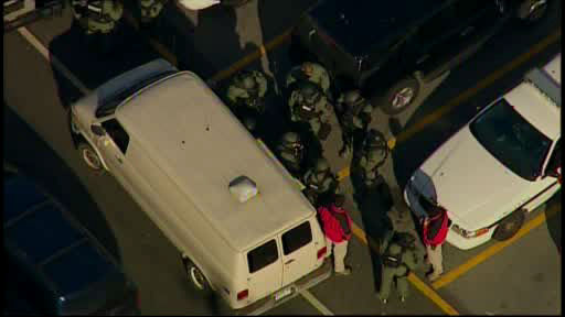 "<div class=""meta image-caption""><div class=""origin-logo origin-image ""><span></span></div><span class=""caption-text"">NewsCopter 7 over the scene where court officers shot a suspect armed with a rifle who opened fire in the lobby of Middletown City Court.</span></div>"