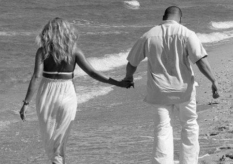 """I married my best friend and love of my life, Mike, on the beach in Miami"""