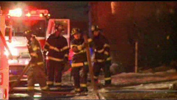 Three men were killed early Sunday morning when fire broke out on the third floor of a home on Reock Street.