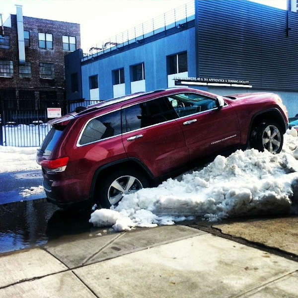 #CreativeParking from Eyewitness News viewers around the New York area.