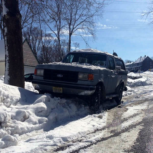 #CreativeParking in the snow from around the New York area.