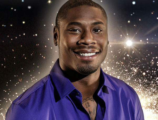 "<div class=""meta ""><span class=""caption-text "">Jacoby Jones is a professional football player for the 2013 Super Bowl Champions Baltimore Ravens. Jones began his professional career after being drafted by the Houston Texans in 2009 and was signed by the Baltimore Ravens in 2012.  PROFESSIONAL PARTNER: KARINA SMIRNOFF (Courtesy Dancing With The Stars/ABC-TV)</span></div>"