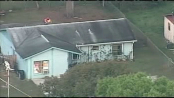 "<div class=""meta image-caption""><div class=""origin-logo origin-image ""><span></span></div><span class=""caption-text"">Rescue crews searched for a Florida man Friday after a large sinkhole opened under the bedroom of a house near Tampa. </span></div>"