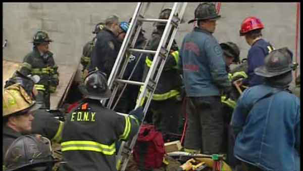 "<div class=""meta ""><span class=""caption-text "">A worker was trapped after a trench collapsed at a construction site in East Harlem.</span></div>"