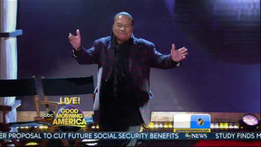"<div class=""meta ""><span class=""caption-text "">Billy Dee Williams is a member of the new  Dancing With The Stars cast revealed on GMA.  Season 18 begins on Monday, March 17, 2014.</span></div>"