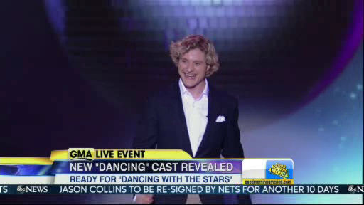 Charlies White is a member of the new Dancing With The Stars cast revealed on GMA.  Season 18 begins on Monday, March 17, 2014.
