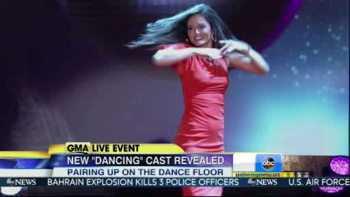Danica McKeller is a member of the new  Dancing With The Stars cast revealed on GMA.  Season 18 begins on Monday, March 17, 2014.