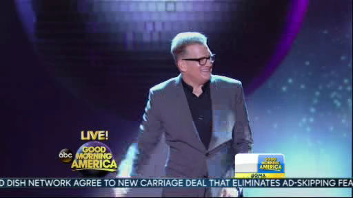 Drew Carey is a member of the new  Dancing With The Stars cast revealed on GMA.  Season 18 begins on Monday, March 17, 2014.