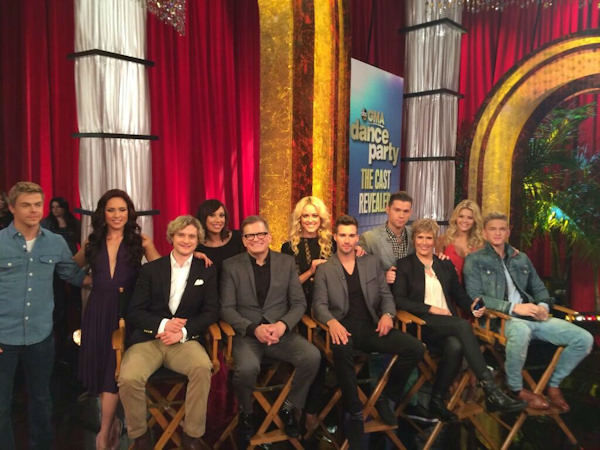 The new cast revealed on GMA on Tuesday.  (via Twitter)