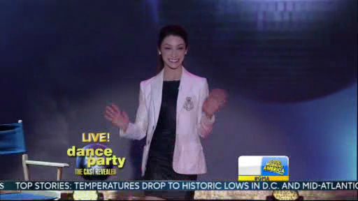 Meryl Davis is a member of the new Dancing With The Stars cast revealed on GMA.  Season 18 begins on Monday, March 17, 2014.