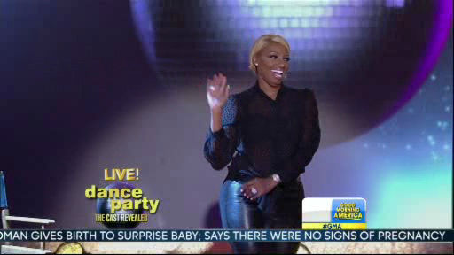 "<div class=""meta image-caption""><div class=""origin-logo origin-image ""><span></span></div><span class=""caption-text"">Nene Leakes is a member of the new Dancing With The Stars cast revealed on GMA.  Season 18 begins on Monday, March 17, 2014.</span></div>"