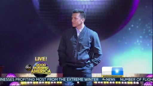 Sean Avery is a member of the new  Dancing With The Stars cast revealed on GMA.  Season 18 begins on Monday, March 17, 2014.