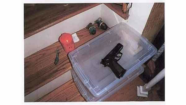 "<div class=""meta ""><span class=""caption-text "">Police say a search of the home uncovered 15 pipe bombs, 20 long guns, 15 grenades and 100 handguns.</span></div>"