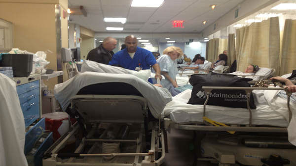 "<div class=""meta ""><span class=""caption-text "">Maimonides Medical Center is treating more patients than before because a nearby hospital still isn't up to speed after the damage from Hurricane Sandy. </span></div>"