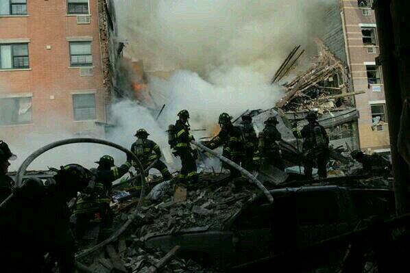 Photos from Eyewitness News viewers and reporters of the explosion in East Harlem on Wednesday, March 12, 2014