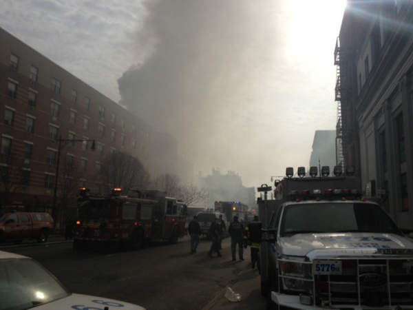 "<div class=""meta ""><span class=""caption-text ""> Photos from Eyewitness News viewers and reports of the explosion in East Harlem on Wednesday, March 12, 2014 </span></div>"