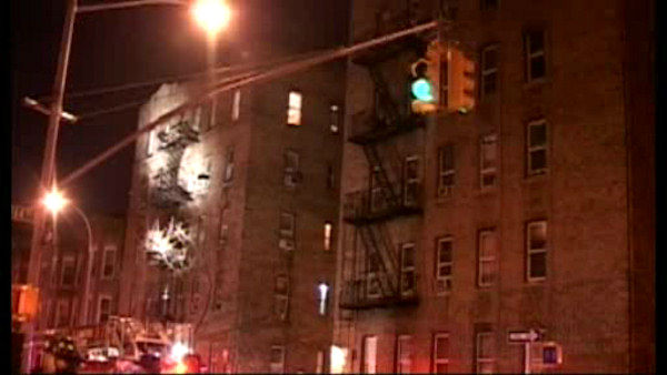 A 7-year-old girl was killed and a 3-year-old girl critically injured after a fire ripped through an apartment in the Bronx Sunday morning.