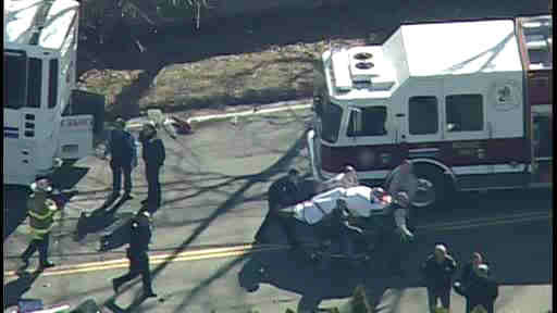 "<div class=""meta image-caption""><div class=""origin-logo origin-image ""><span></span></div><span class=""caption-text"">One person was killed and other injuries were reported when a coach bus collided with a tree in Roslyn Heights on Long Island on Tuesday, April 1, 2014.  Another vehicle was also involved.</span></div>"