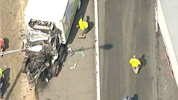 Multiple vehicles, including a tractor-trailer, were involved in an accident Monday afternoon on the New Jersey Turnpike in Monroe Township.