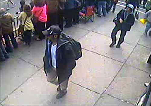 "<div class=""meta image-caption""><div class=""origin-logo origin-image ""><span></span></div><span class=""caption-text"">The FBI has released photos and video of two suspects they are searching for in the Boston Marathon bombings. (Photo/FBI.GOV)</span></div>"