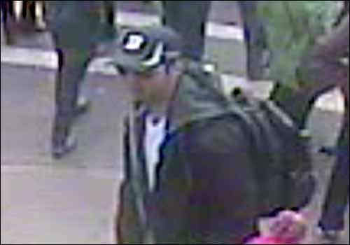 The FBI has released photos and video of two suspects they are searching for in the Boston Marathon bombings. <span class=meta>(Photo&#47;FBI.GOV)</span>