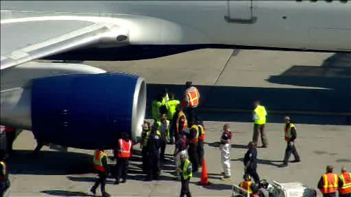 "<div class=""meta image-caption""><div class=""origin-logo origin-image ""><span></span></div><span class=""caption-text"">A Delta flight bound for Los Angeles made an emergency landing at JFK Airport after sustaining an apparent bird strike shortly after takeoff. (Ýû×ýæÁEs??´?@o?_?Yü'¥18ê~Í5Ðt\õ¯*?î/å@?ÑÇÅù§?¬g¹¼våÇÿ)</span></div>"