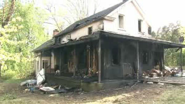 A 4-year-old boy was found on the lawn of a burning home in Monsey, Rockland County.