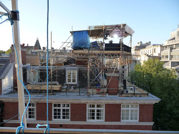 "<div class=""meta ""><span class=""caption-text "">Media scaffolding on rooftops in London (Photo by Bryan White)</span></div>"