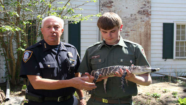 "<div class=""meta ""><span class=""caption-text "">Anyone with an illegal reptile or amphibian had a chance to turn it in to the Suffolk County SPCA Saturday without being punished.</span></div>"