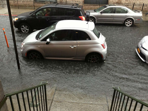 Hoboken, New Jersey from an Eyewitness News viewer.
