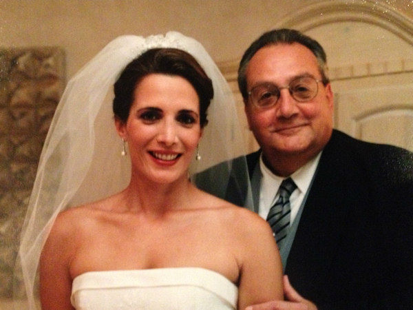 This is my father, Leonard Colagrossi on my wedding day October 1998. He has always reminded me of the actor Paul Sorvino. Growing up he was tough, but loving and always my biggest supporter. He loves golfing in Florida, horse racing and hanging out with his buddies  complaining about the Cleveland Browns.  Love you Dad!
