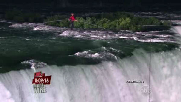 "<div class=""meta ""><span class=""caption-text "">The seventh-generation member of the famed Flying Wallendas had long dreamed of pulling off the stunt, never before attempted. Other daredevils have wire-walked over the Niagara River but farther downstream and not since 1896. </span></div>"