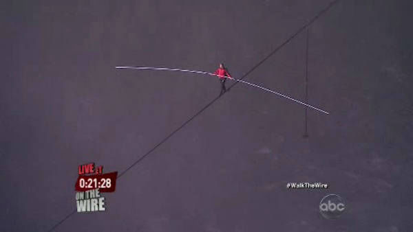 The seventh-generation member of the famed Flying Wallendas had long dreamed of pulling off the stunt, never before attempted. Other daredevils have wire-walked over the Niagara River but farther downstream and not since 1896.
