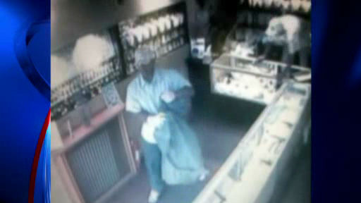 "<div class=""meta image-caption""><div class=""origin-logo origin-image ""><span></span></div><span class=""caption-text"">The hunt is on for two bandits who opened fire inside a Brooklyn jewelry store, wounding the owner.  It happened inside the Studio Jewelry store at 93 Nassau Avenue in the Greenpoint section around 12:30 p.m. Monday.</span></div>"