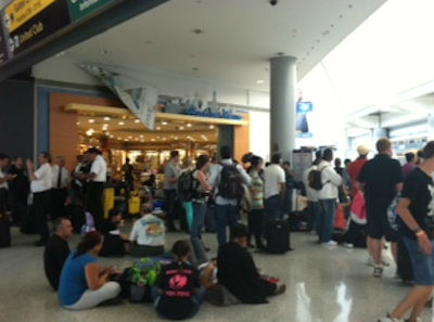 "<div class=""meta ""><span class=""caption-text "">Photo from Eyewitness News viewer Lauri during a security lockdown inside Newark Liberty International Airport Terminal C on Sunday, August 5, 2012.</span></div>"