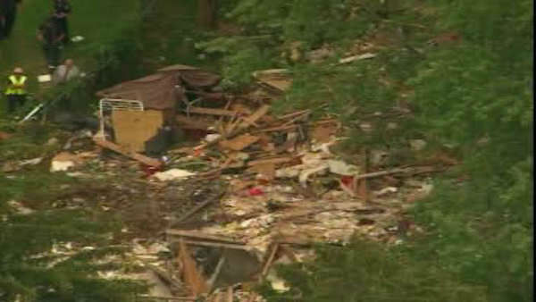 A toddler was killed an a dozen others were injured when a house exploded in Brentwood, Long Island Tuesday afternoon.