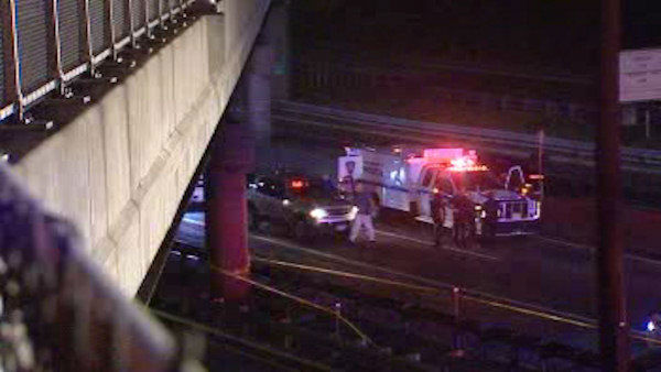 "<div class=""meta ""><span class=""caption-text "">A teenager headed to a sweet 16 party was killed after he stuck his head out of a double-decker bus and hit a highway overpass in Fort Lee.</span></div>"